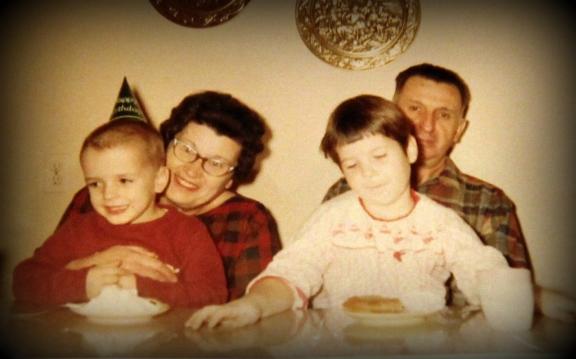 Grandma & Grandpap, Johnny & Jodi - 1968