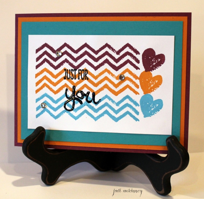 work of art chevron and hearts