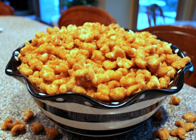 Caramel Corn bowl