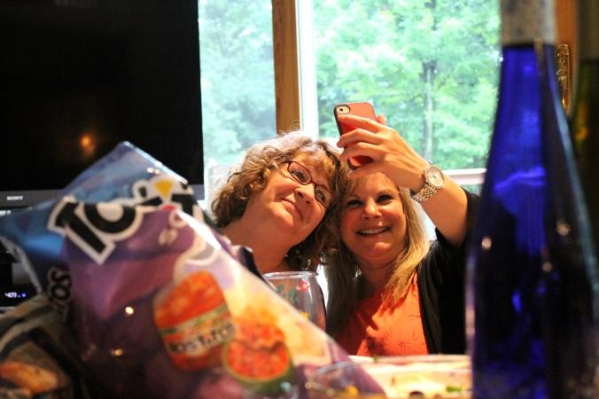 GFC2014 Aline and Renee Selfie