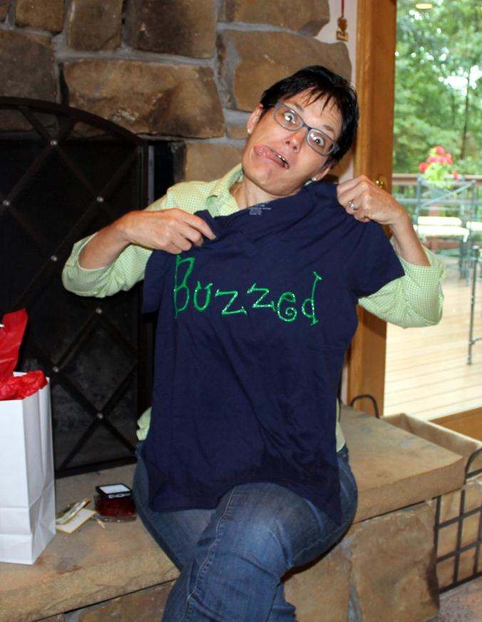 GFC2014 Jill Buzzed