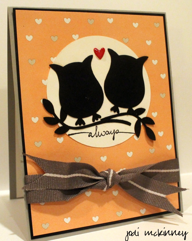 Owl Punch Jake and Colleen First Anniversary Card