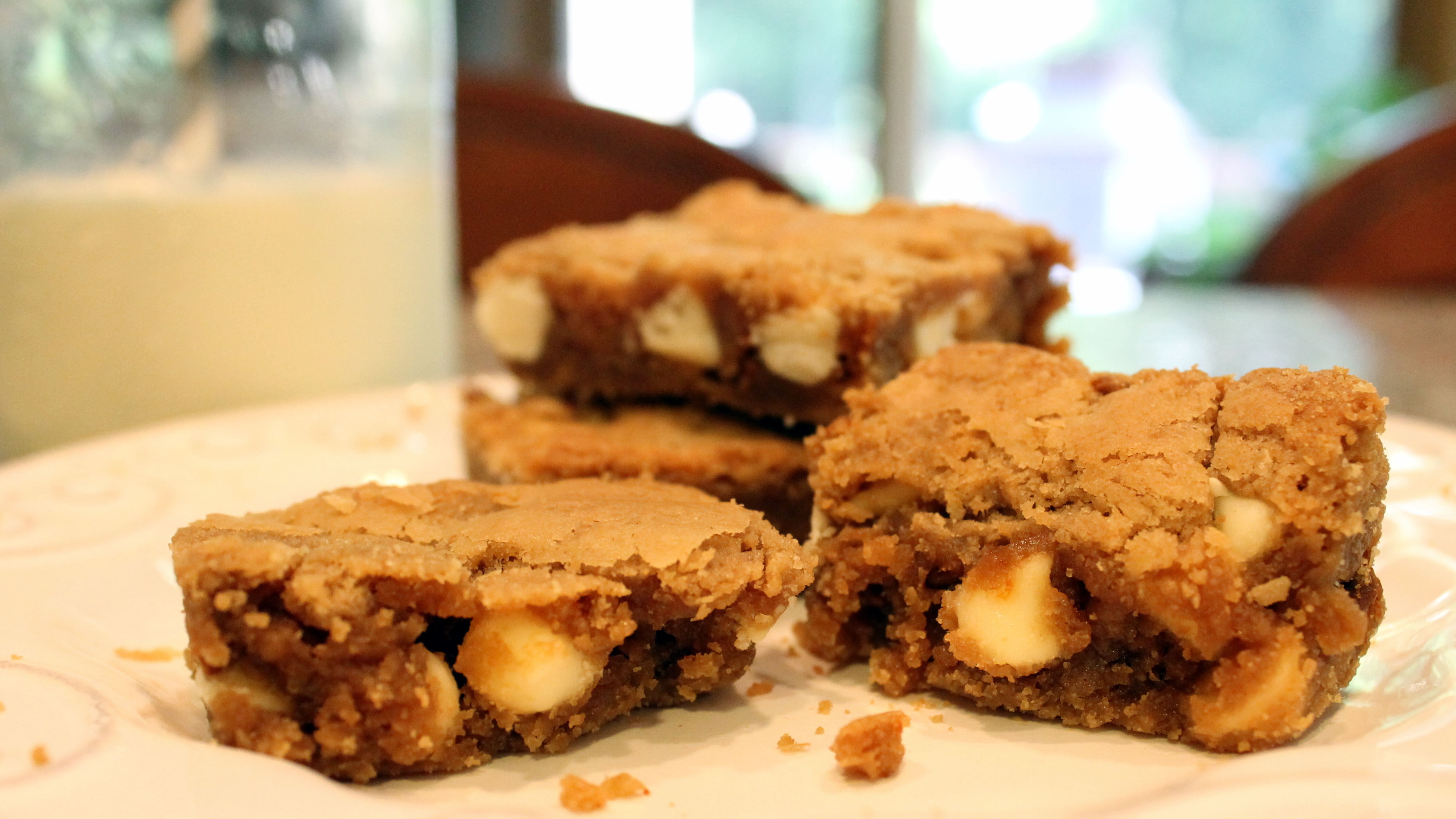 chocolate biscoff truffles biscoff white chocolate the blondies are ...