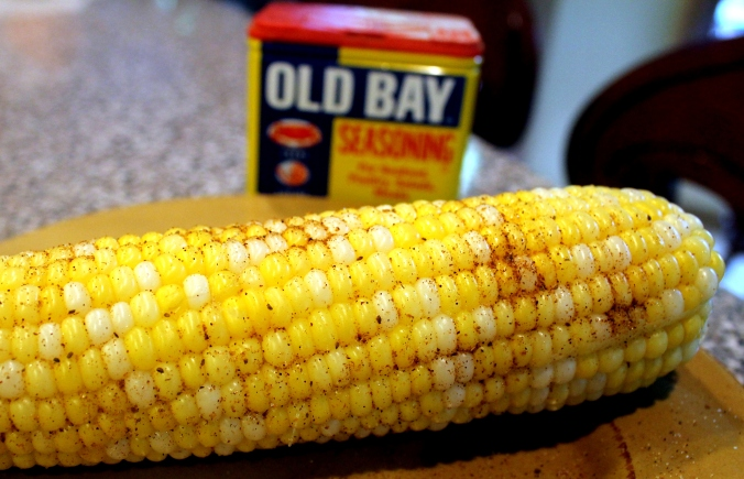 corn on cob with old bay