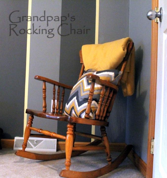 grandpaps rocking chair