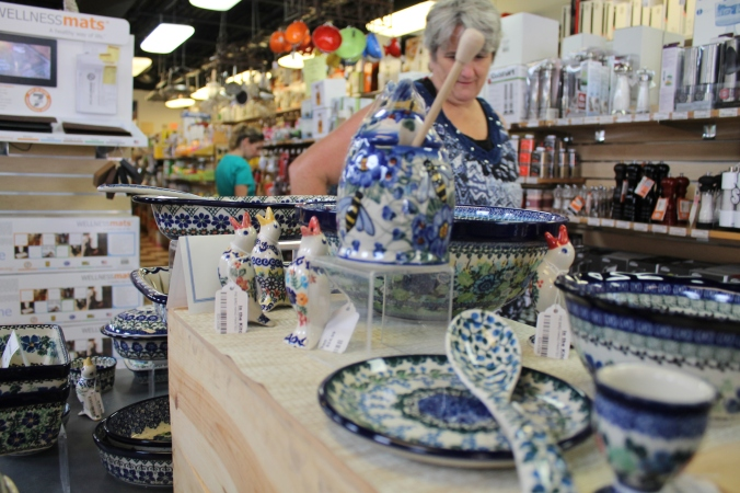 In the Kitchen Strip District Pittsburgh Polish Pottery