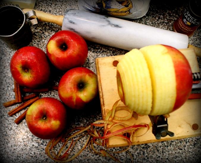 apple dumpling apple peeler corer slicer