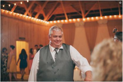 Marty at Jakes wedding