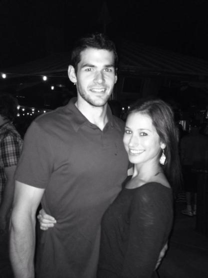 Nick and Liz B&W