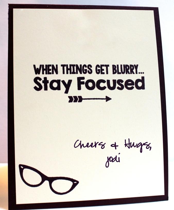 stay focused MFT geek is chic