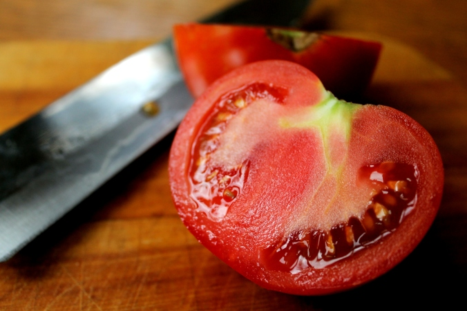 tomato cut