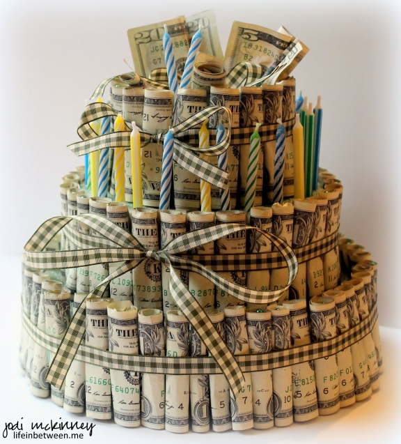 money birthday cake Jake 27