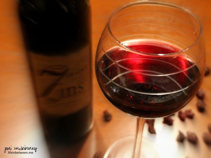 scarlett seven deadly zins red zinfandel wine