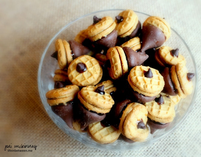 chocolate peanut butter acorns 3