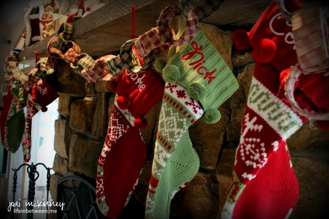 christmas deco stockings