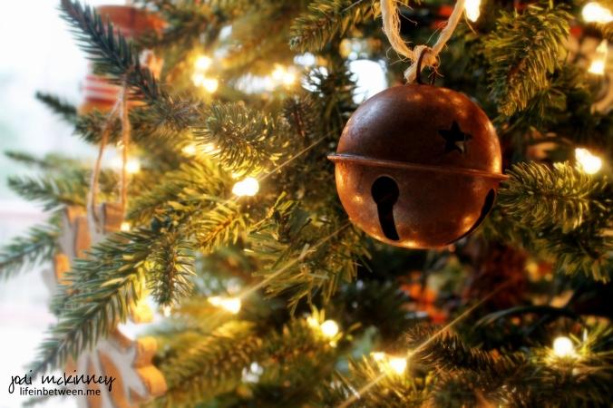 christmas deco tree bell