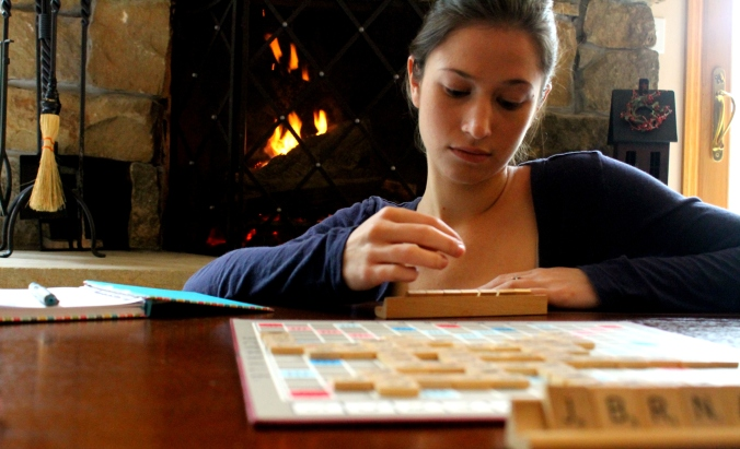scrabble liz fire