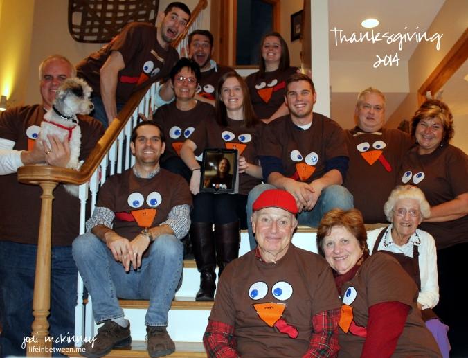 thanksgiving 2014 group turkey shot