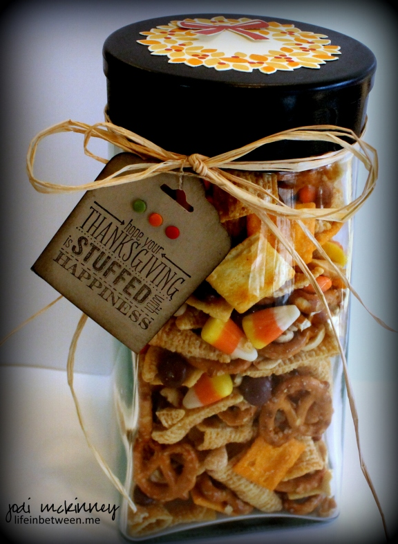 thanksgiving crack snack mix