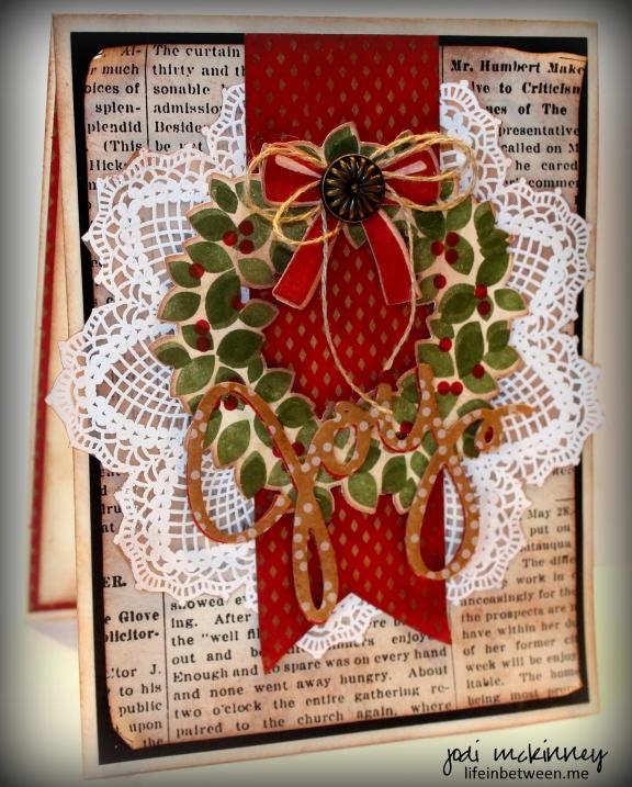 Wondrous Wreath Hello Doily PP221 jlm