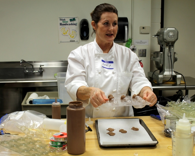 chocolate class mary instructor 1