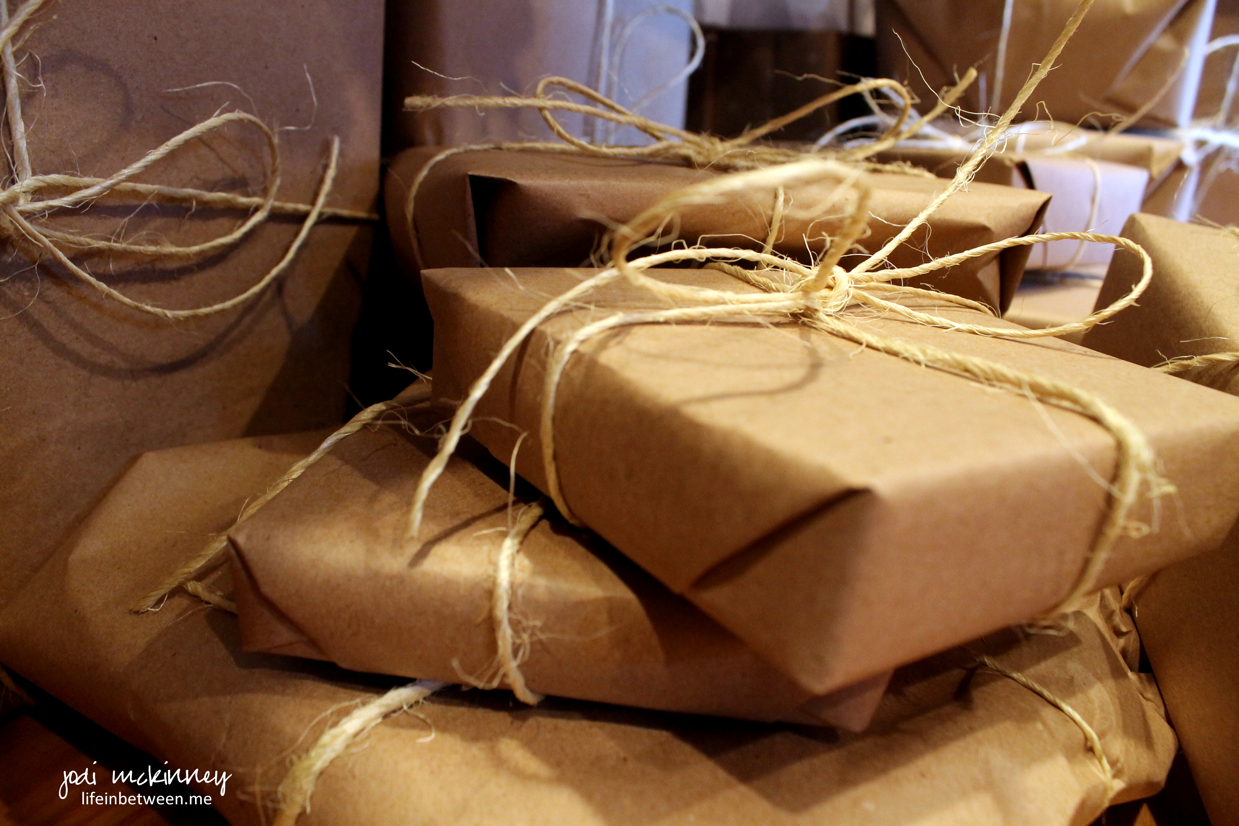 Very Brown Paper Packages | the creative life in between CB49