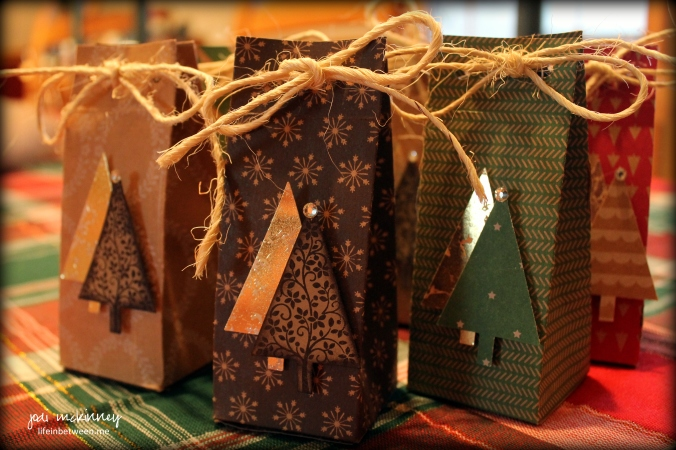 festival orf trees christmas gift bags