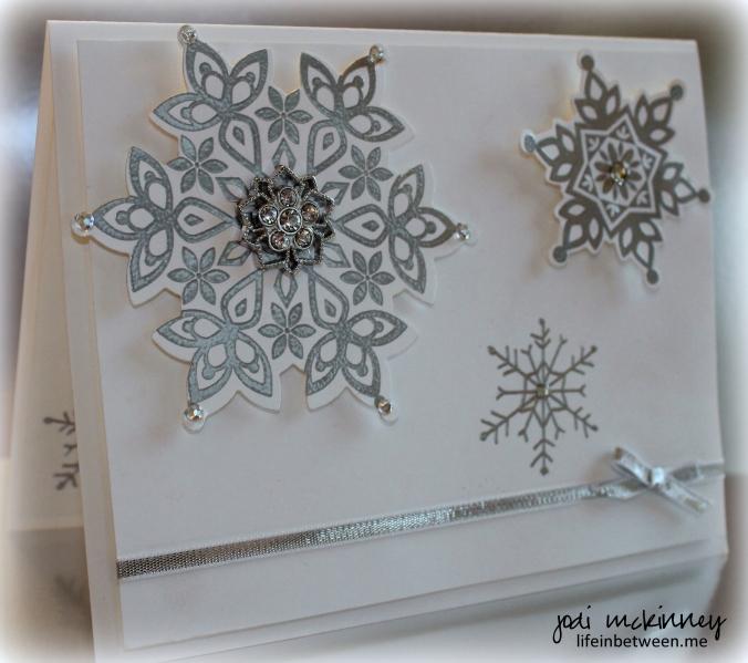 festive flurry silver elegant christmas 2014