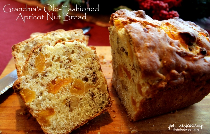 Grandmas Old Fashioned Apricot Nut Bread Cover