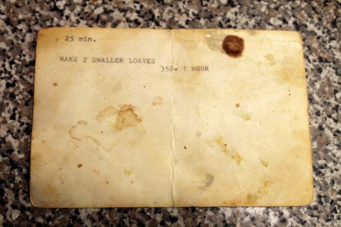 Grandmas Old Fashioned Apricot Nut Bread Recipe Card 2