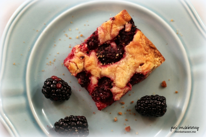 Blackberry Blondies 2