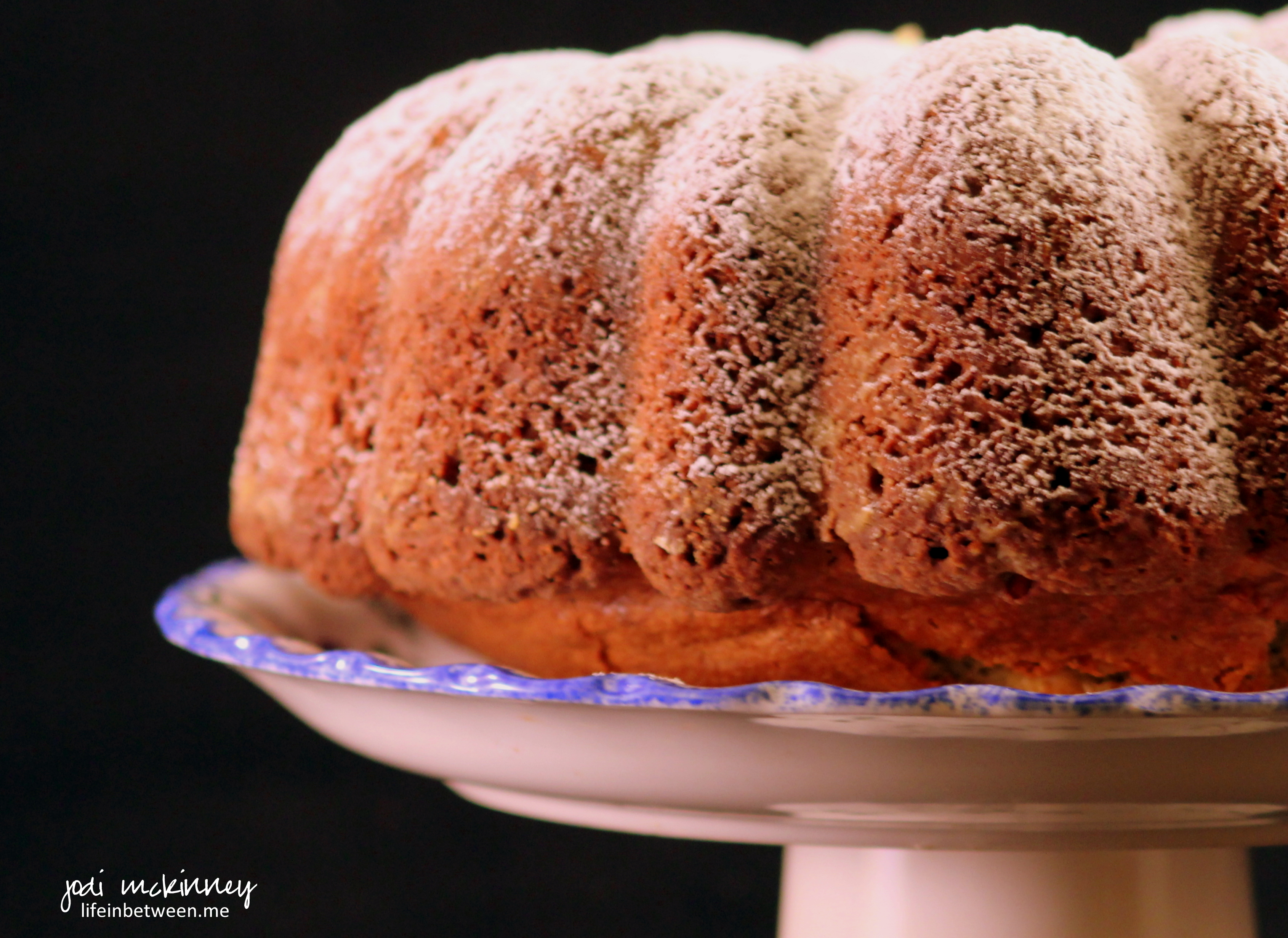 for poppy seed cake lately, and when I passed a package of poppy seeds ...
