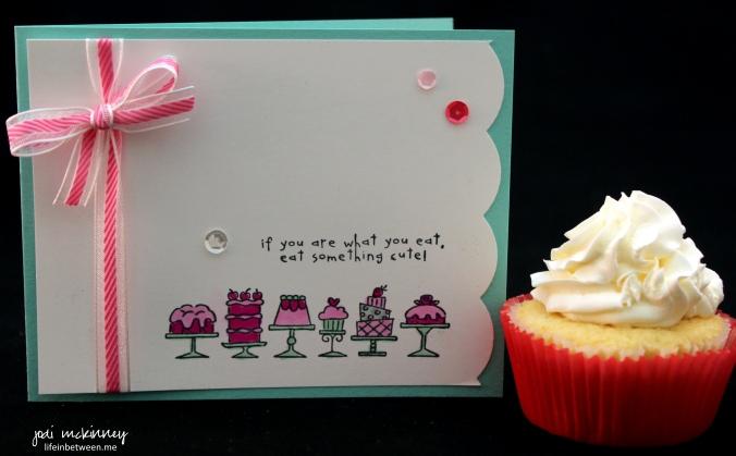 birthday bakery card