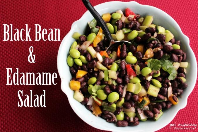 Black Bean and Edamame Salad 1