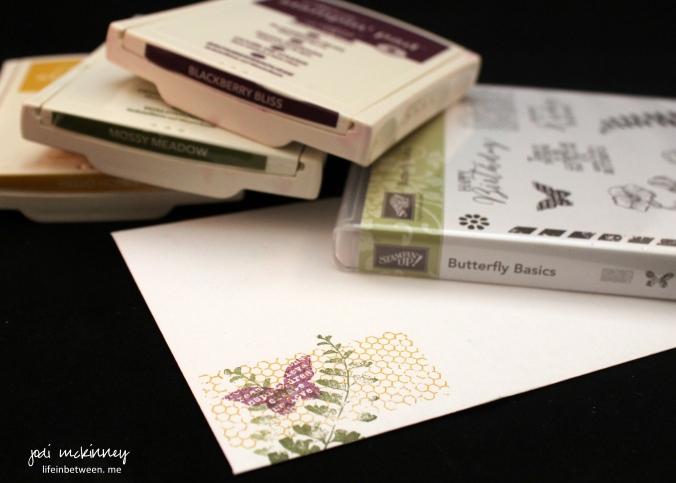 butterflly basics envelope