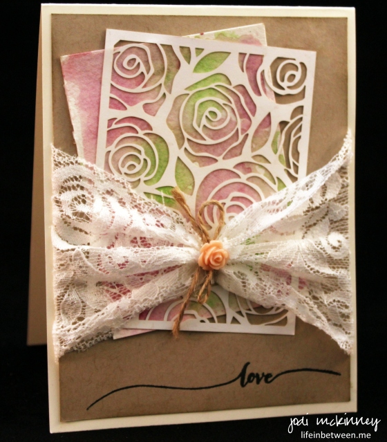 charrie shower card artisan embellishment and hello life