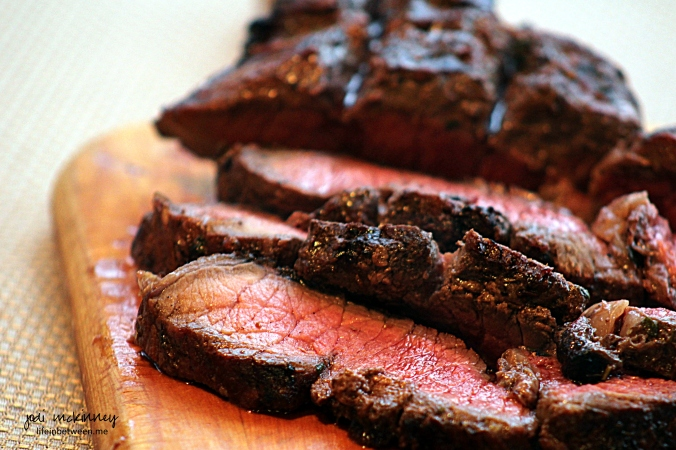 grilled marinated london broil 1
