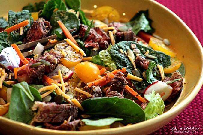 leftover lunch salad