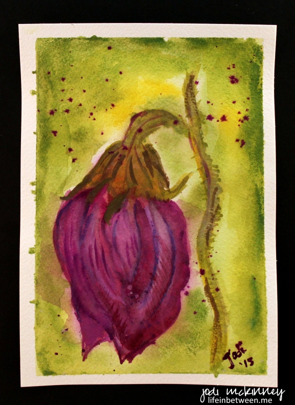 My first watercolor 040115