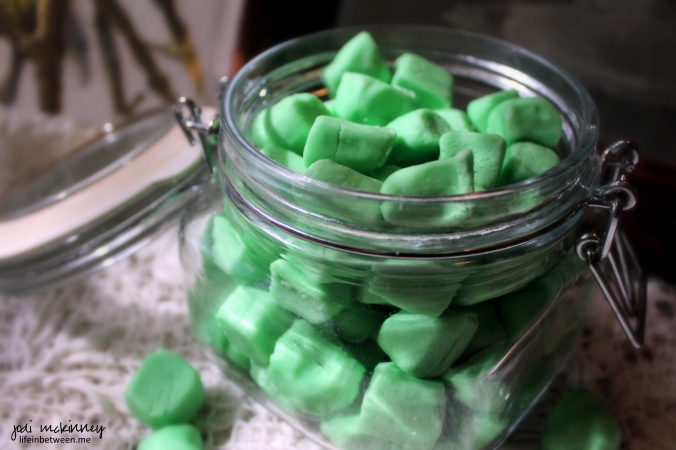 old fashioned homemade butter mints