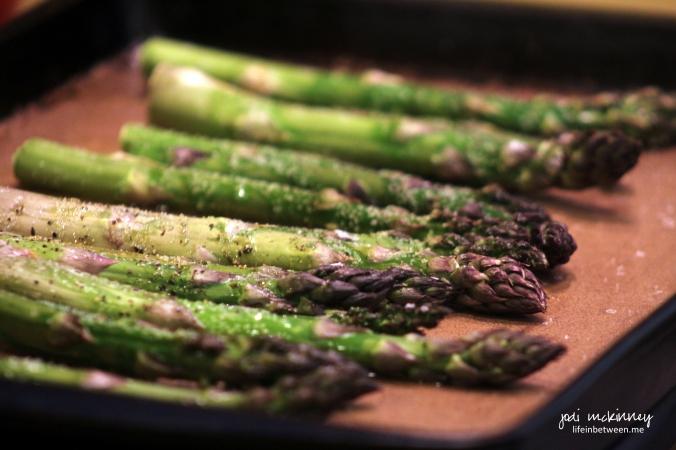 asparagus roasted