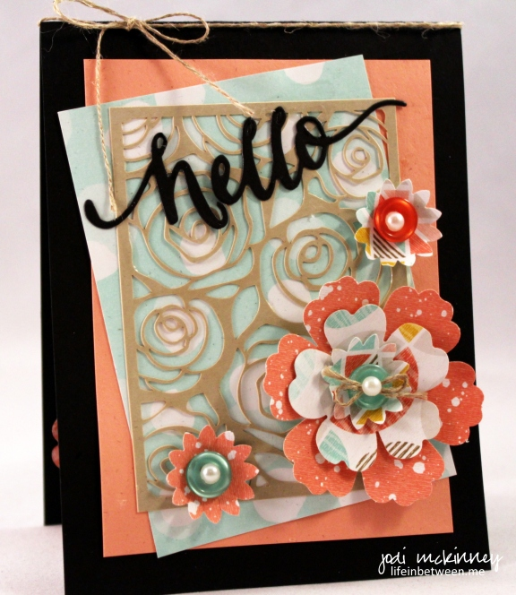 CYCI 68 Flower Punch Mothers Day Card