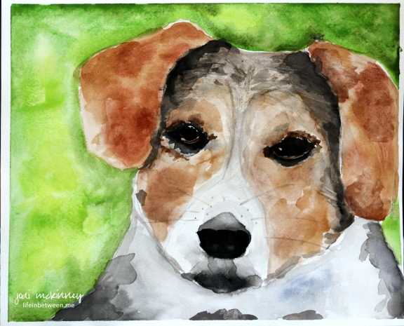 watercolor mikey