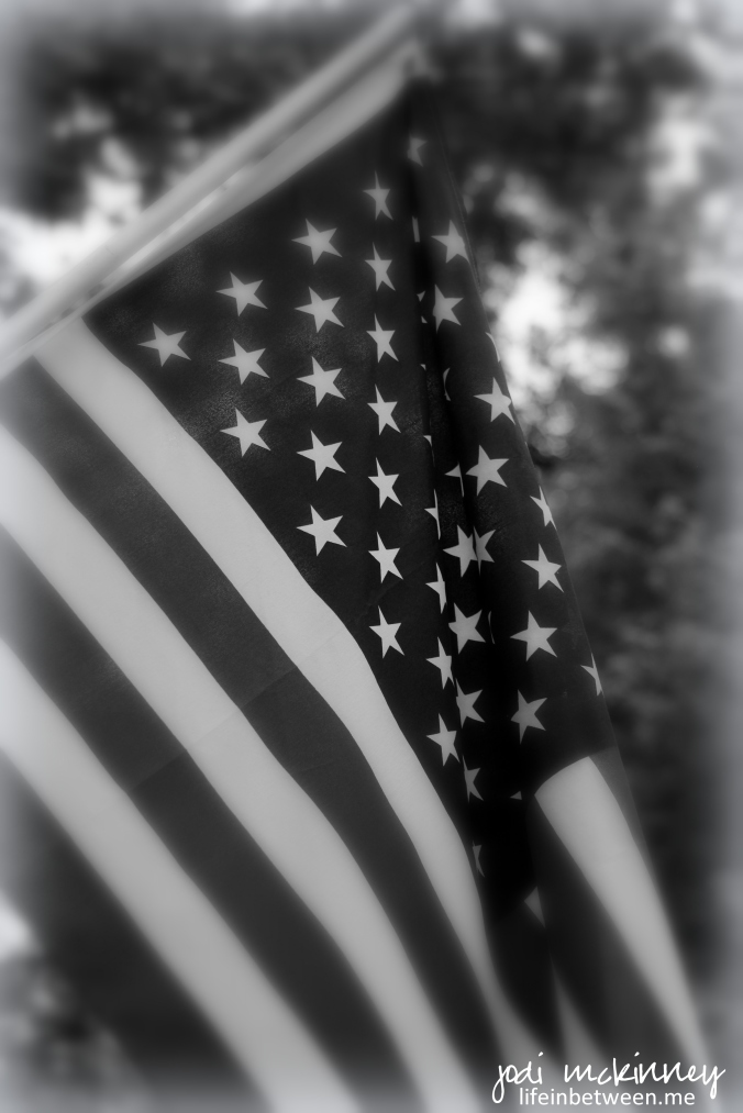 flag fourth of july monochrome black and white