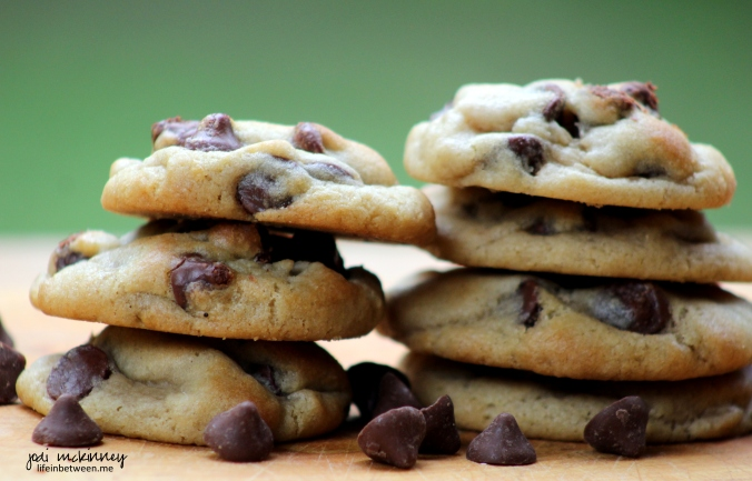 Milk Chocolate Caramel Filled Chip Cookies