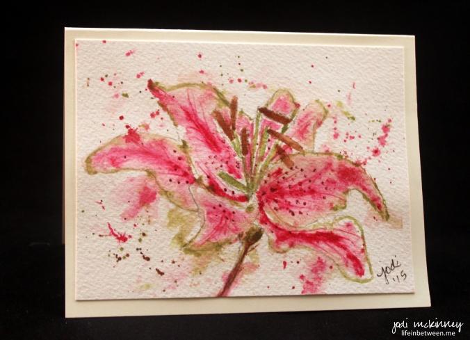 stargazer lily 3