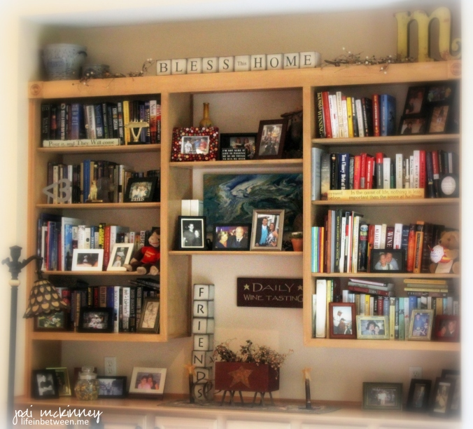 the family bookshelf