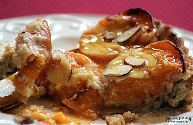 Fresh Apricot Almond Creme Tart 5