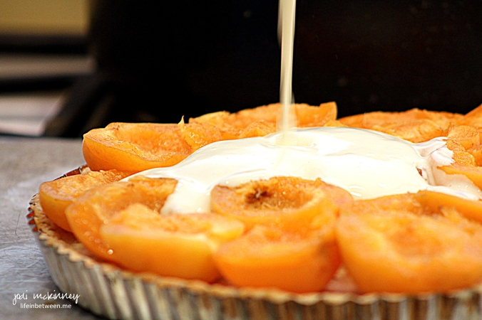 Fresh Apricot Almond Creme Tart Apricots and Creme