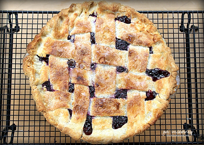 Fresh Blackberry Pie 2